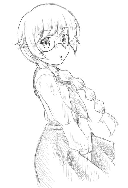 忍 中学生制服